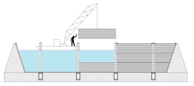 porte de garage anti inondation top protection inondation garage meilleur de descente auto anti. Black Bedroom Furniture Sets. Home Design Ideas