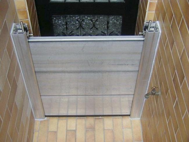 Aluminium ESTHI - Batardeau porte