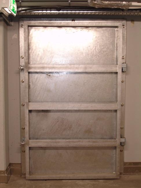 Portes étanches ESTHI - Batardeau porte