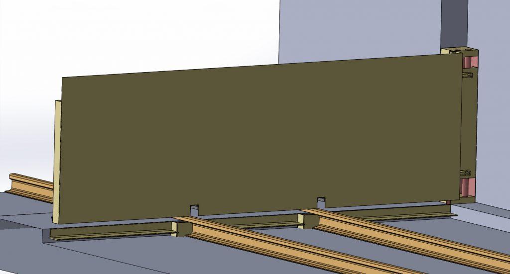 portails et portillons de protection des inondations esthi. Black Bedroom Furniture Sets. Home Design Ideas